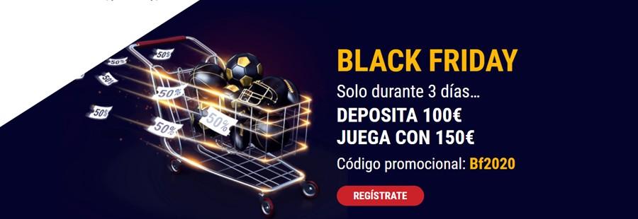 Promoción exclusiva Black Friday de Marathonbet