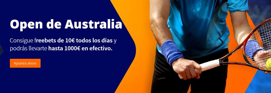 promoción Betsson Open de Australia