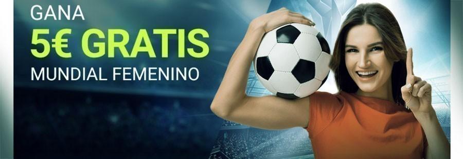 Promoción Luckia Mundial Femenino de Fútbol