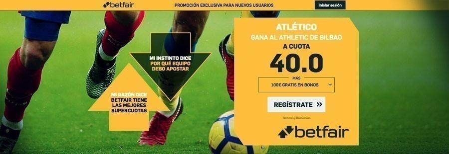 Promoción Betfair Atlético Madrid