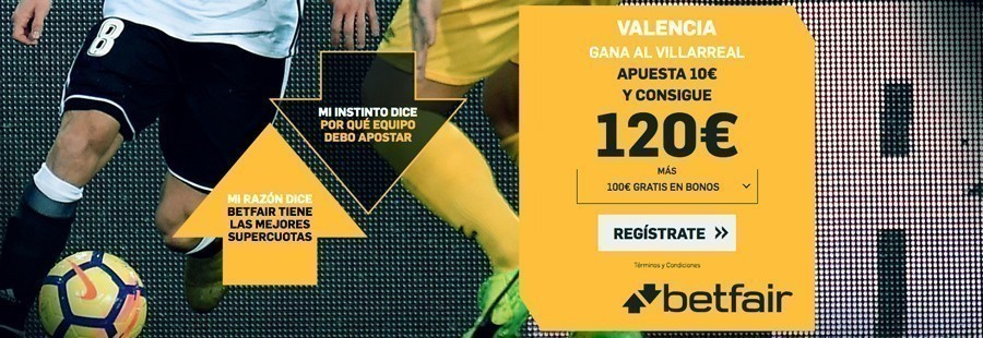Promoción Betfaiir Europa League Valencia Villarreal