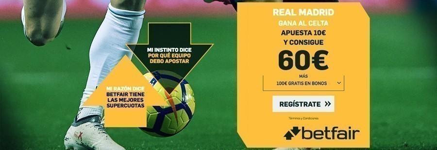 Promoción Betfair Real Madrid