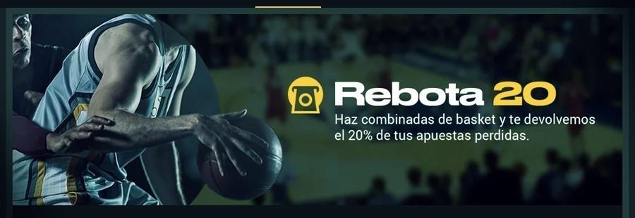 Promoción combinadas de Baloncesto con betfair