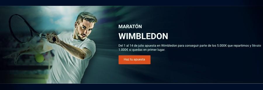 Maratón Wimbledon con Luckia