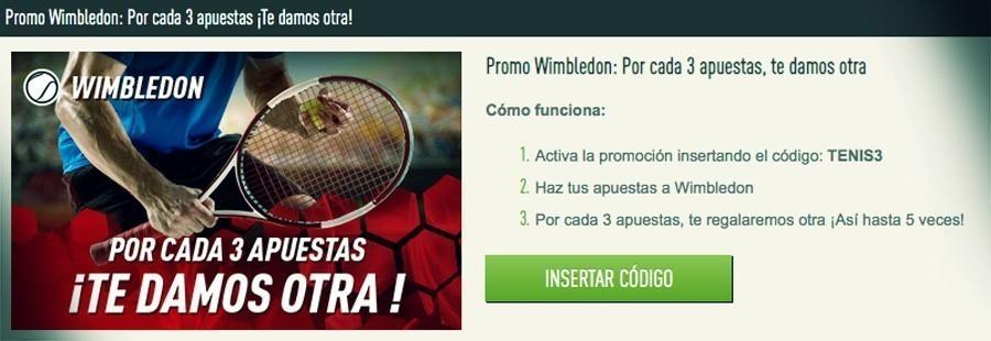 Promoción Sportium Wimbledon