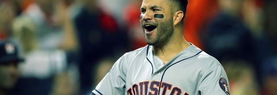 Pronósticos MLB Astros de Houston - José Altuve
