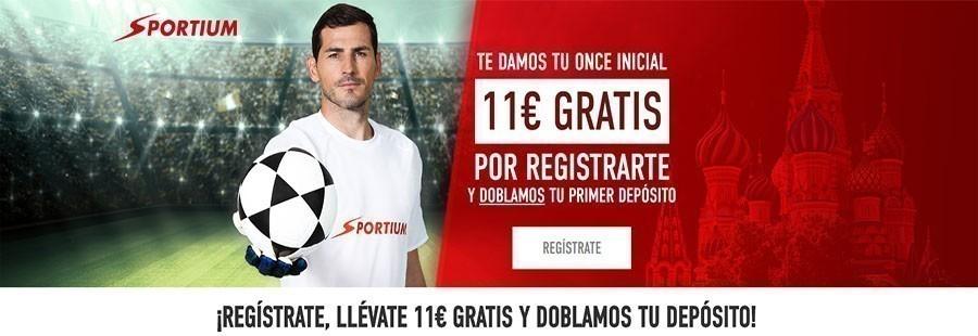 Apuesta con la promoción 11 Incial de Sportium