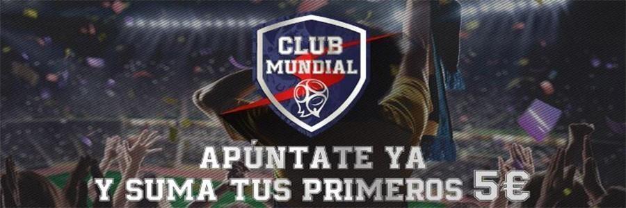 Apuesta con la promoción Club Mundial de Sportium