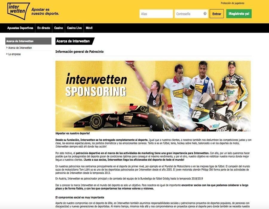 ¿Por qué elegir Interwetten sport?