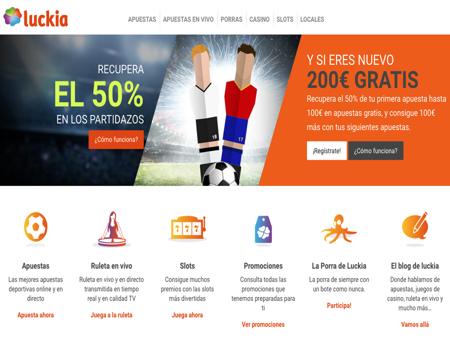 Luckia web