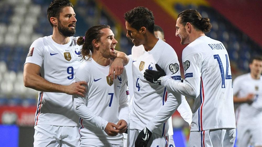 Parier Euro - Equipe de France