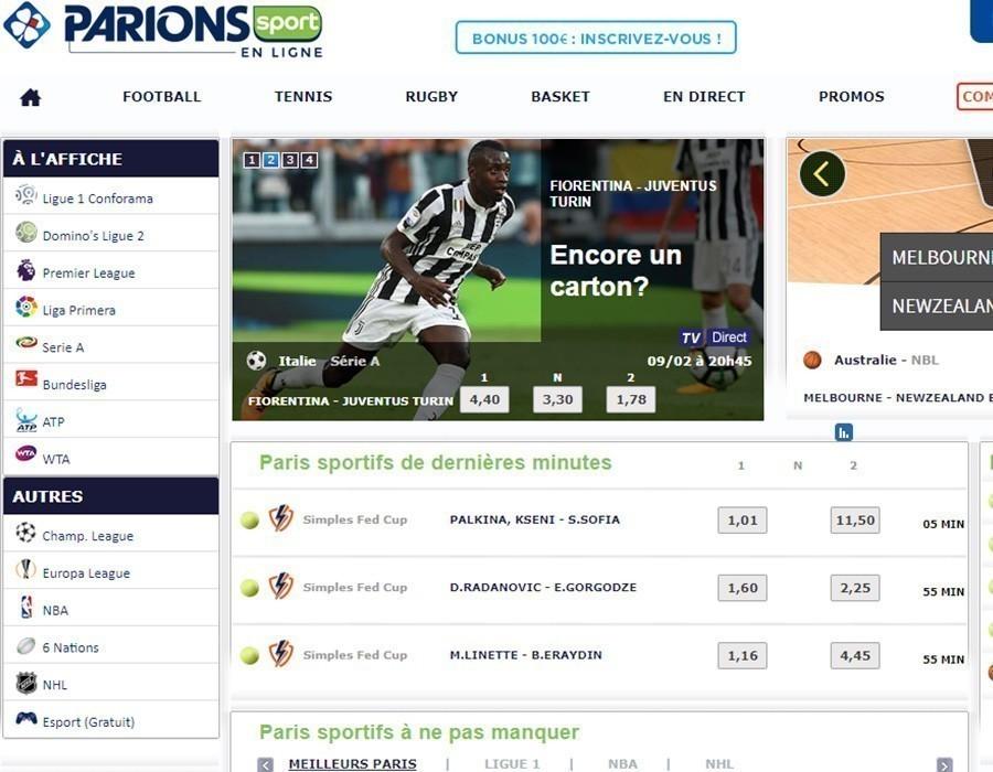 Parions Sport Football