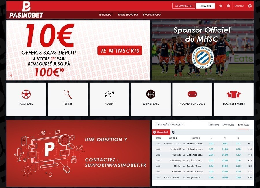 PasinoBet - Paris Sportifs