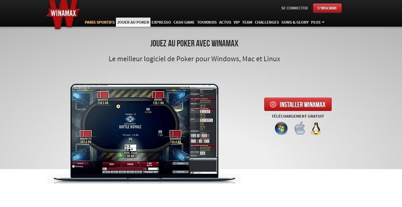 Télécharger Winamax sur PC