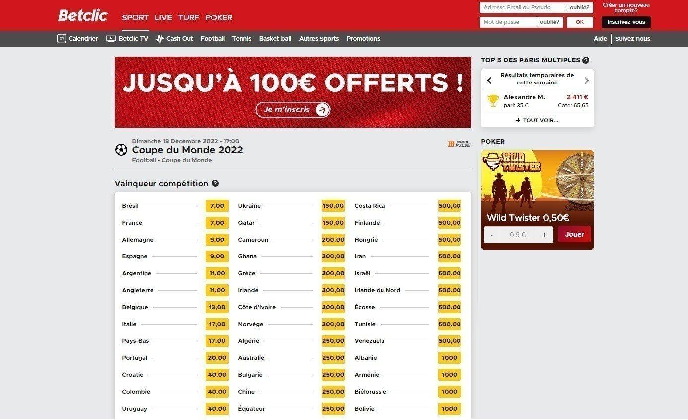 Comment utiliser les 100 euros Betclic ?