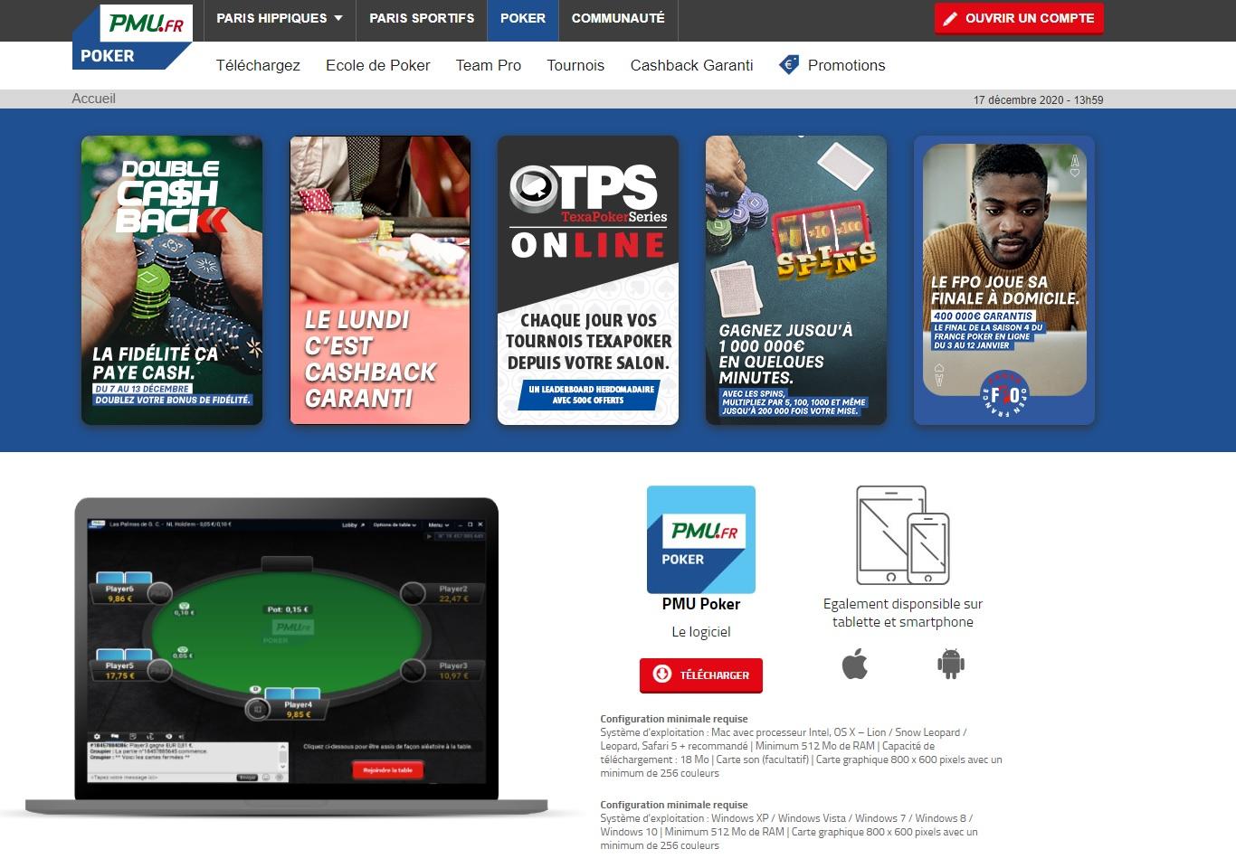 Bonus Poker PMU
