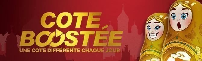 Promotion Winamax - Cote Boostee Coupe du Monde