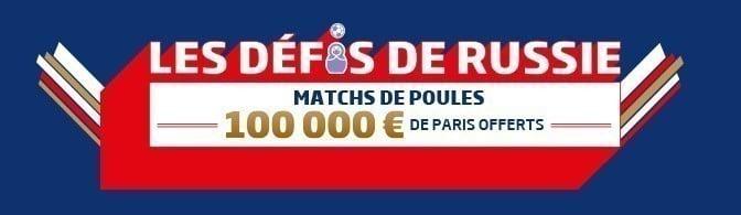 Promotion PMU - Coupe du Monde