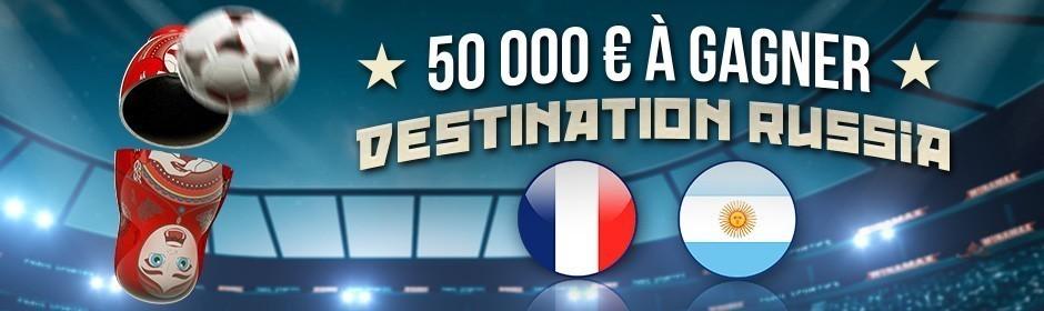 Promotion Winamax France Argentine