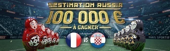 Promotion Winamax Finale Coupe du Monde 2018