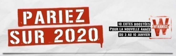 Promotion Winamax - 2020