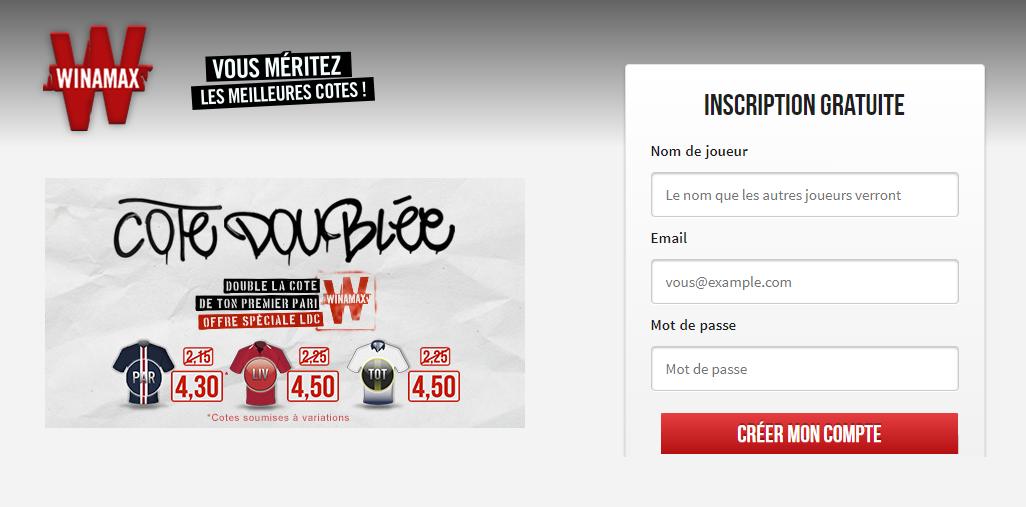 Promotion Winamax Ligue des Champions
