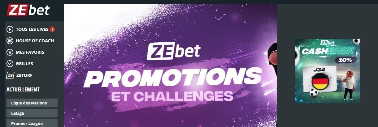 Zebet - Promotion Bundesliga