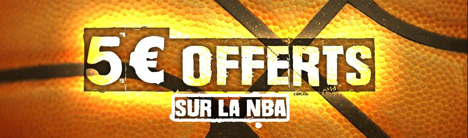 Promotion France Pari NBA