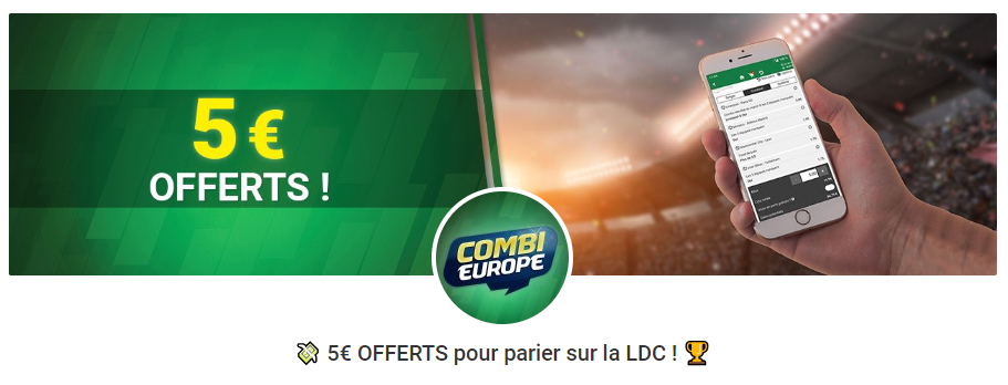 Promotion Bookmaker Ligue des Champions - Unibet
