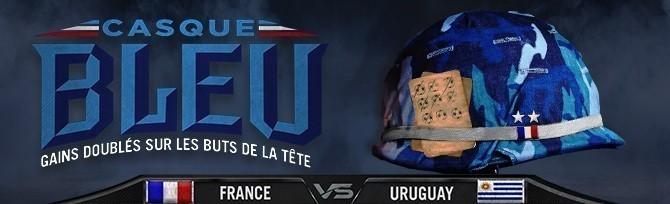 Promotion Winamax - France Uruguay - Novembre 2018