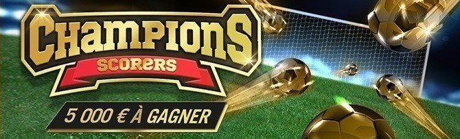 Promotion Winamax - Champions Scorer - Novembre 2018