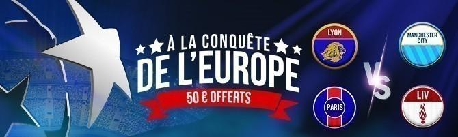 Promotion Winamax - Ligue des Champions - Novembre 2018