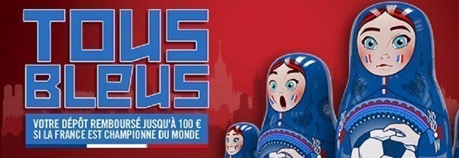 Promotion Winamax Coupe du Monde 2018