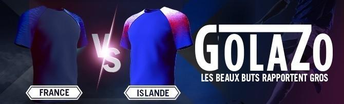 Promotion Winamax - France Islande