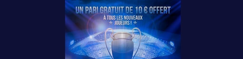 Bonus Winamax sans dépôt - Ligue des Champions