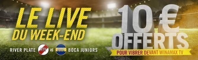 Promotion River Plate Boca Juniors - 9 Décembre 2018
