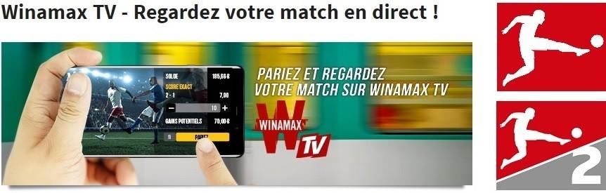 Winamax TV - Bundesliga Streaming