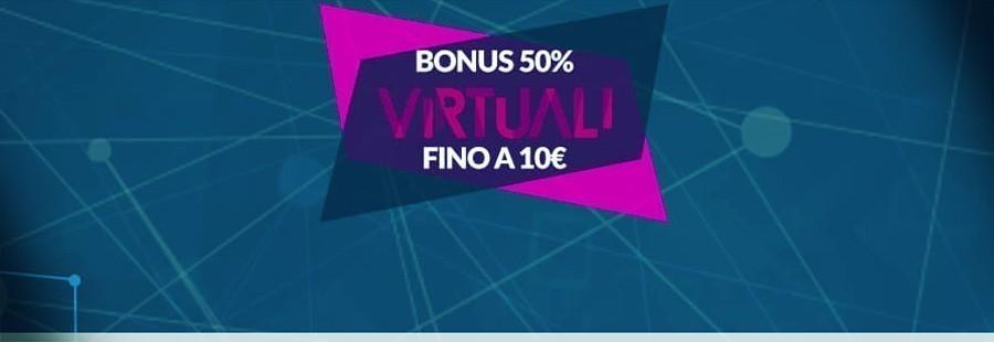 Bonus virtuali Europbet