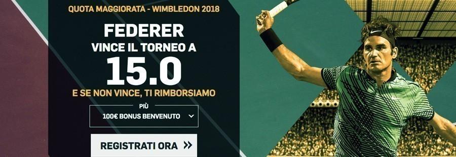 Promozione Wimbledon 2018 - Betfair