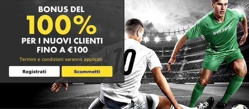 Bonus 100€ Bet365 - 2018