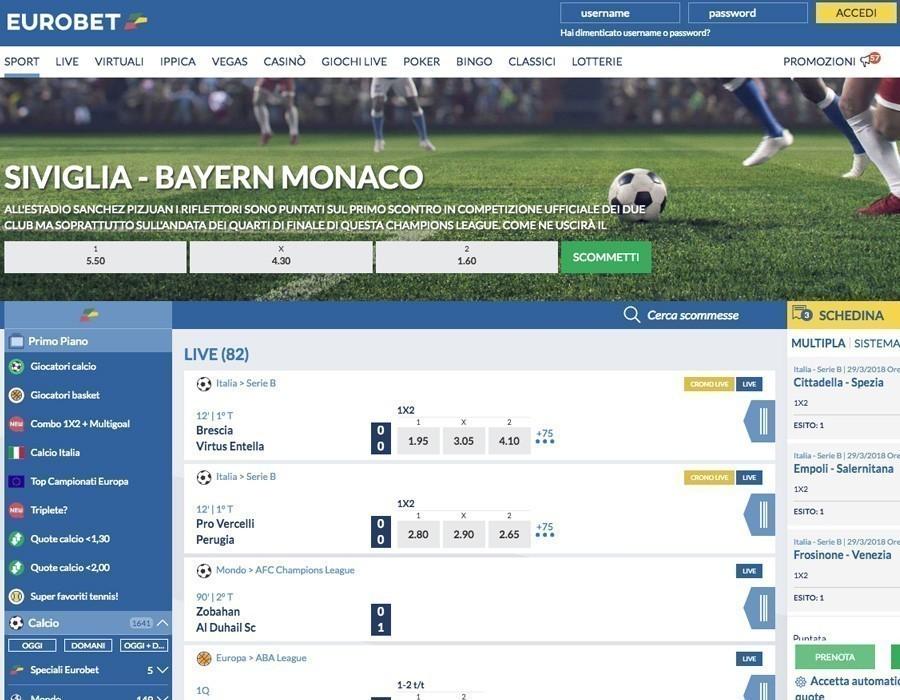 Eurobet calcio