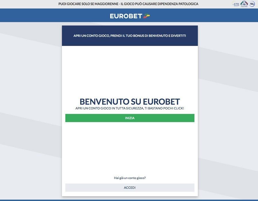 Eurobet Login