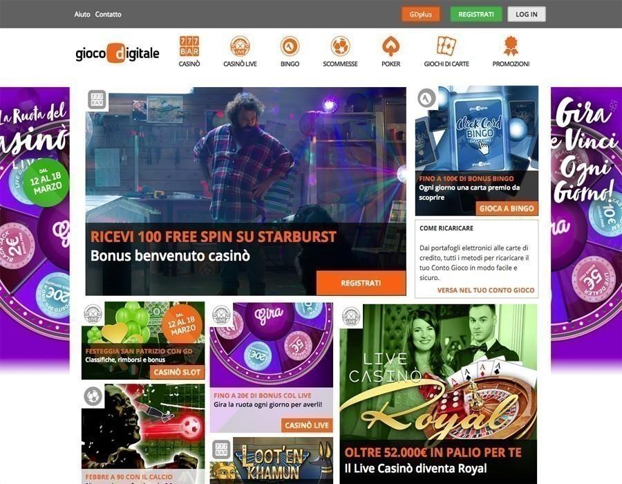 Gioco Digitale sito web