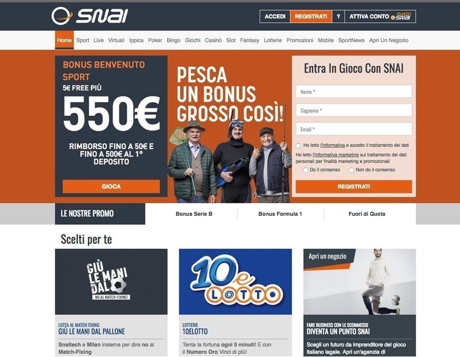 Snai sito web