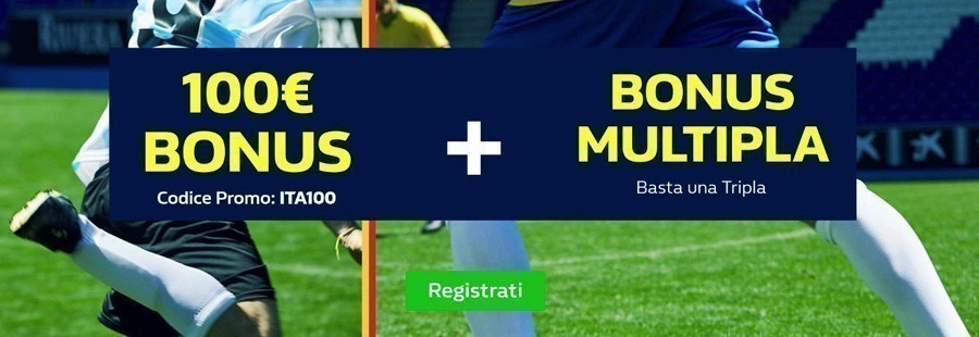 Bonus 100€ William Hill - 2018