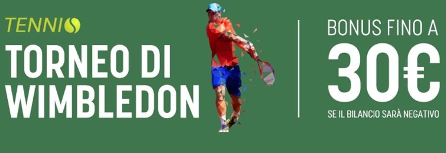 Bonus Snai tennis