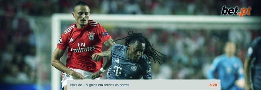Bet.pt Apostas Especial Europa: Bayern Munique - SL Benfica