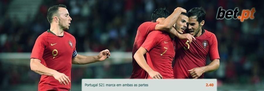 Apostas especais Bet.pt - Portugal-Polónia sub21