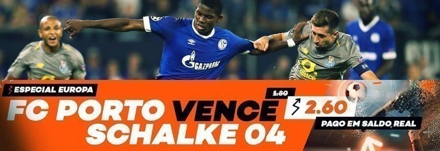 Bet.pt Apostas Especial Europa: FC Porto - Schalke 04