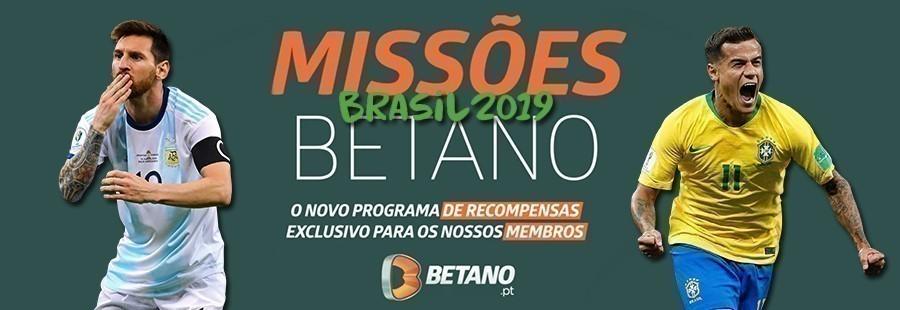Missão Betano: Copa América Meias-Finais!